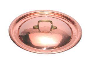 Coperchio tondo in rame cm. 16