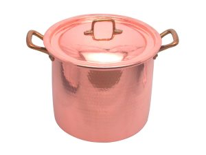 Stockpot with lid cm. 24 (copper)