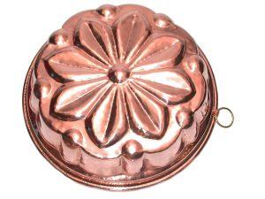 Flower Copper Cake Pan cm. 28