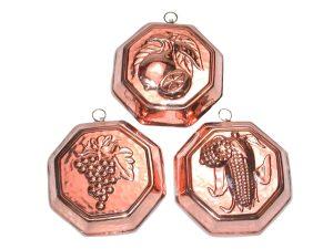 Serie stampi Ottagonali 3 pz. cm. 14