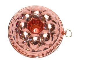 Copper donut mold cm. 25