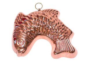 Stampo per dolci - Pesce curvo cm. 23x15